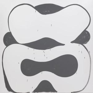 "Amy Feldman, ""Killer Instinct,"" 2014. Acrylic on canvas, 79 × 79"". Courtesy: Blackston Gallery, New York."